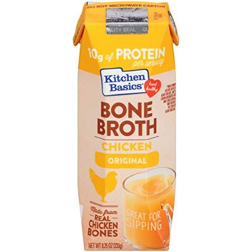 Kitchen Basics Chicken Bone Broth, 8.25 fl oz (Pack of 12)