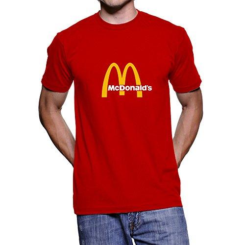 Moda Personalidad Camisetas Series, McDonald 's Logotipo personalizado playera...