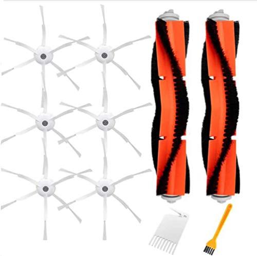 Bisheep Kit de accesorios de repuesto Kit de accesorios compatible con Xiaomi Vacuum 2 Roborock S50 S51 Roborock piezas de repuesto para aspiradora