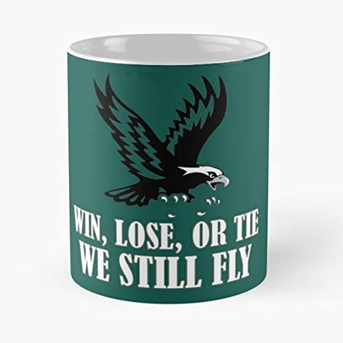 Win Lose Or Tie We Still Fly Philly Randall Donovan Gift Coffee/tea Ceramic Mug Father Day