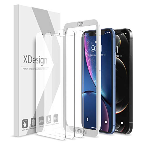 3 Pack Tempered Glass iPhone XR / 11 / 12 / 12 Pro Screen Protector - $3.89 + Free Prime Shipping at Amazon
