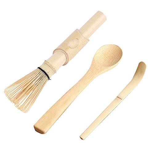 Set da 3 pezzi di bambù per la preparazione di matcha...