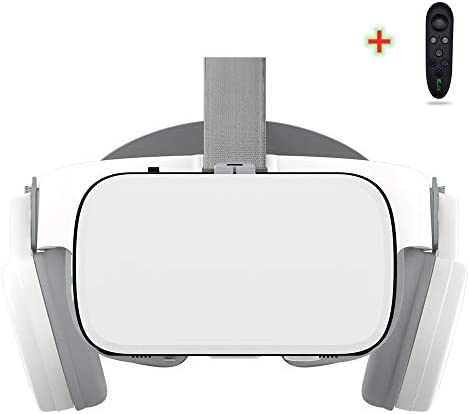 LONGLU VR Headset Compatible with iPhone and Android Phones 3D Glasses Virtual Reality With product image