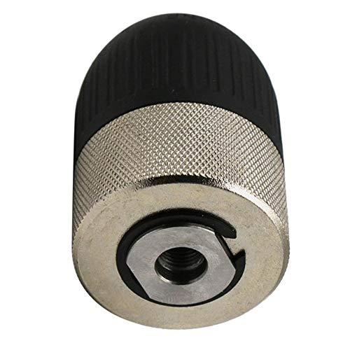 1.5-13mm Electric Hammer Keyless Drill Chucks Drill Keyless Chuck 3/8'-24UNF With 1/4' Hexagon Adaptor Conversion Chuck