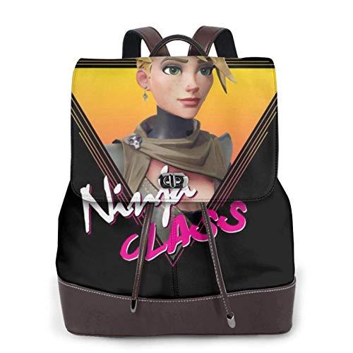 Battle Royale Retro Ninja Class Women's Bapack, College Girl School Bag, Ladies Travel Bapack, Ladies Leather Bapackck