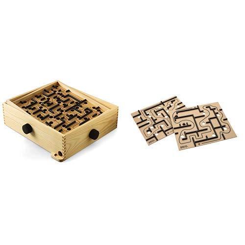 Brio 34000000 - Labyrinth &  34030 - Labyrinth Ersatzplatten, 2-teilig