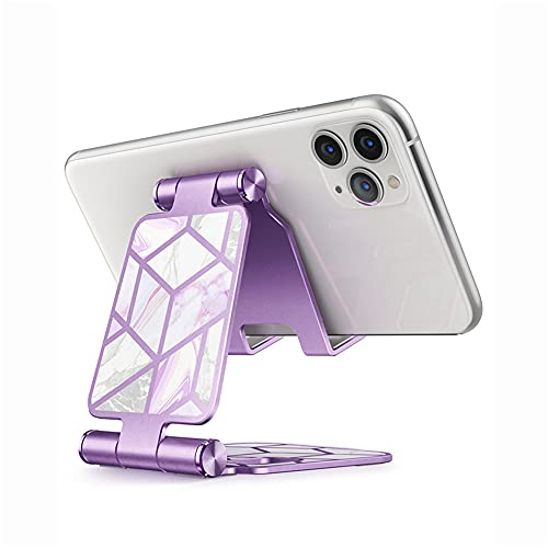 HLAA Soporte para Teléfono Móvil Fashion Soporte para Teléfono Móvil Ajustable De Múltiples ángulos Adecuado para iPhone 11 Pro XS MAX XR X 6 6S 7 8 Plus Samsung iPad (Ameth)