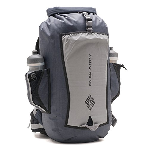 Aqua Quest SPORT 25 PRO Backpack - 100% Waterproof Reflective Dry Bag...