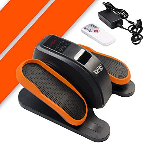 Bonplus BP | Mini Elíptica Eléctrica Bidireccional | Ejercitador de piernas | Mando a Distancia | Pantalla Velocidad y Calorías | 3 programas automáticos | 60W
