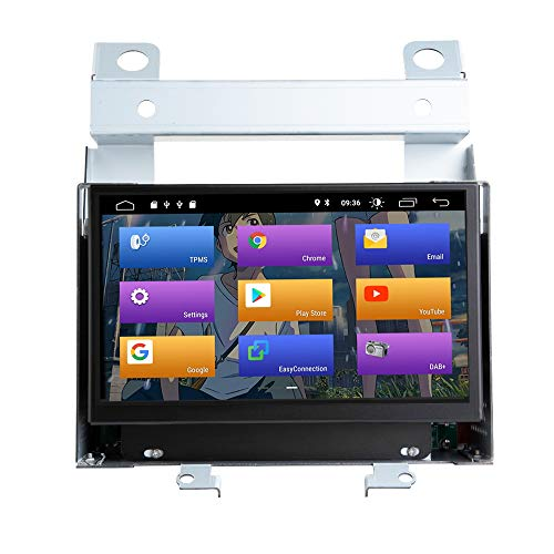 "BOOYES para Land Rover Freelander 2 2007-2012 Android 10.0 Double DIN 7""Car Multimedia GPS Navigation Auto Radio Stereo Car Auto Play/TPMS/OBD / 4G WiFi/Dab/SWC"