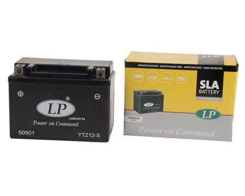 LANDPORT YTZ12-S Batterie 12V 11aH für Mopped, Motorrad [inkl. 7.50 Batteriepfand]