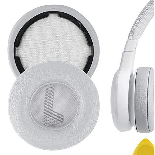 Geekria QuickFit - Almohadillas de repuesto para auriculares JBL LIVE 400BT, almohadillas para auriculares, almohadillas para auriculares, piezas de reparación (gris)