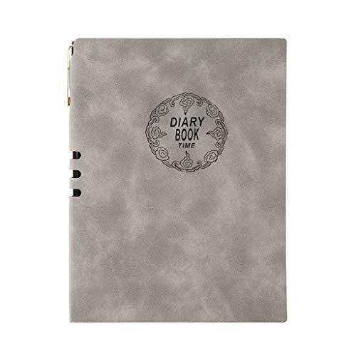 Cuadernos de redacción Cubierta de Cuero de Oveja de Calidad Bloc de Notas de la Vendimia Cuaderno Diario Memos Diario Planificador Agenda Agenda Cuaderno de Cuero de la PU Blocs y Cuadernos de Notas