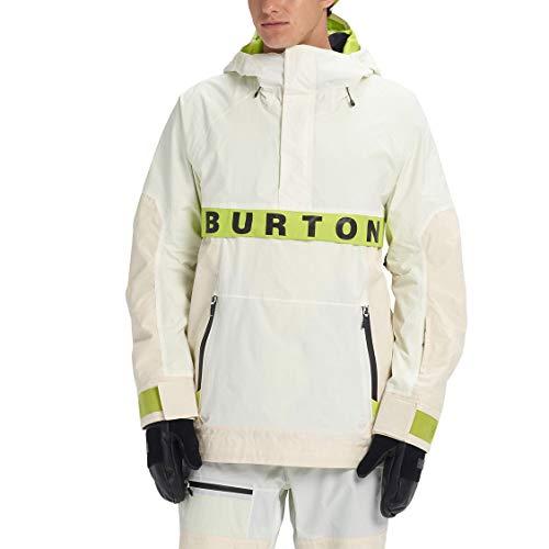 Burton Herren Ski- Snowboardjacke M NER Anorak, Größe:XL, Farben:stowht/almrip/tensho