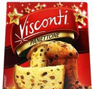 Visconti PANETTONE Italian Cake Naturally Leavened Moist and Ready to Eat