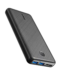 Powerbank Anker PowerCore Essential, 20000mAh externer Akku mit PowerIQ Technologie und USB-C Eingang, enorme Energiedichte, kompatibel mit iPhone, Samsung, Huawei, iPad und mehr