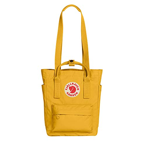 Fjallraven, Kanken Totepack Mini Backpack with Tablet Sleeve for Everyday Use and Travel, Ochre