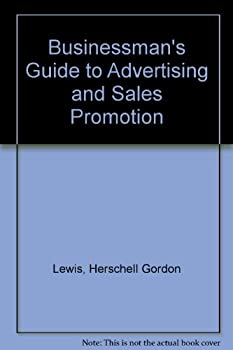 Hardcover The businessman's guide to advertising & sales promotion Book