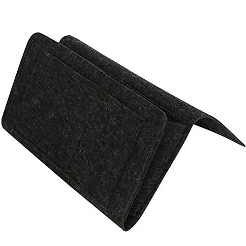 Rizihao - Organizador de almacenamiento para gafas de teléfono, color negro