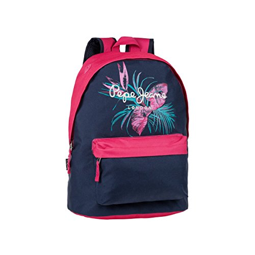 Pepe Jeans 63723A1 Honey Mochila Escolar, 22.85 litros, Color Azul