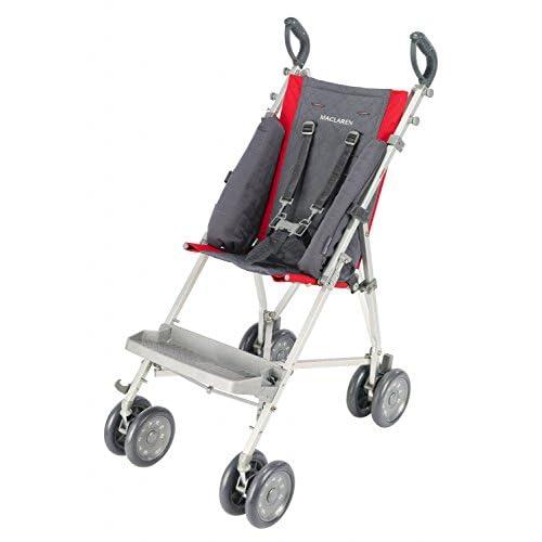 Maclaren Major Supporti laterali - Progettati per sedie da trasporto per esigenze speciali. UPF 50+ Hood offre protezione solare. Si adatta facilmente a Maclaren Major Elite