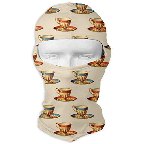 ALaze Tasse à thé Photo Polyvalente Sports de Plein air crème Solaire Coupe-Vent et poussière Cou guêtre Tube Cache-Oreille Plus Chaud Cagoule Bandeau