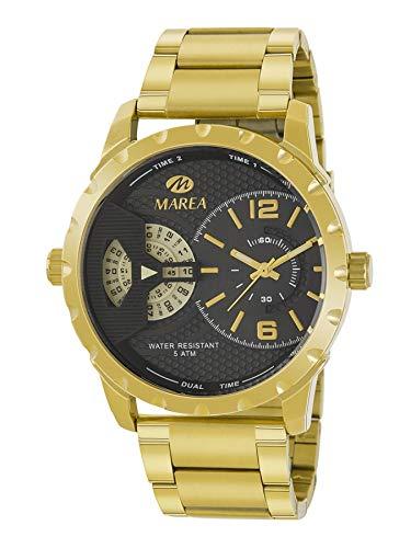 Reloj MAREA Caballero Dorado B54178/4