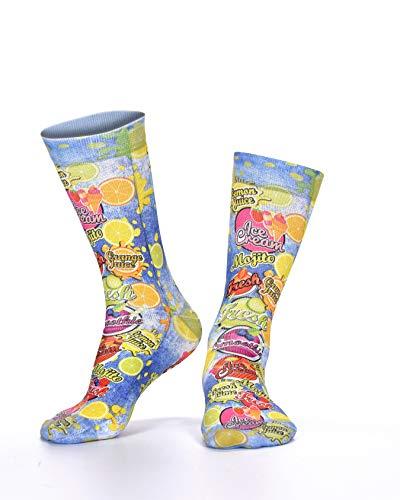 Wigglesteps Damen Socken CITRUS FRUITS, one Size (36-41)