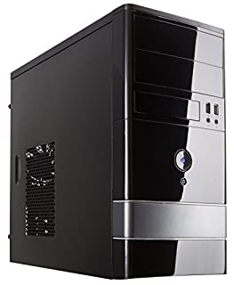 ROSEWILL Micro ATX Mini Tower Computer Case, Steel and plastic computer case with 1x 120mm front fan and 1x 80mm rear fan, Front I/O and 2x USB 2.0 (FBM-01) (B005LIDU5S) | Amazon price tracker / tracking, Amazon price history charts, Amazon price watches, Amazon price drop alerts