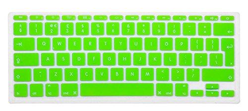 Copritastiera Verde per Macbook Air Pro Retina 13, 15 e 17 Pollici, Layout Eu di Mizar4Shop