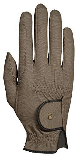Roeckl Roeck Grip Handschuh, Unisex, Reithandschuh, Khaki, Größe 10
