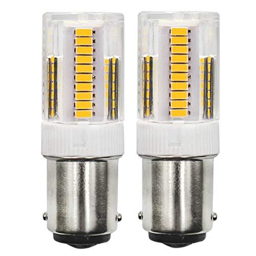 B15D 2,5W LED-Glühbirnen, entspricht einer 28W Halogenlampe, 220V, 200LM, Warmweiß(2700K), CRI>83, nicht dimmbar, 360°Strahlwinkel, energiesparende LED-Lampen, 2er-Pack. [MEHRWEG]