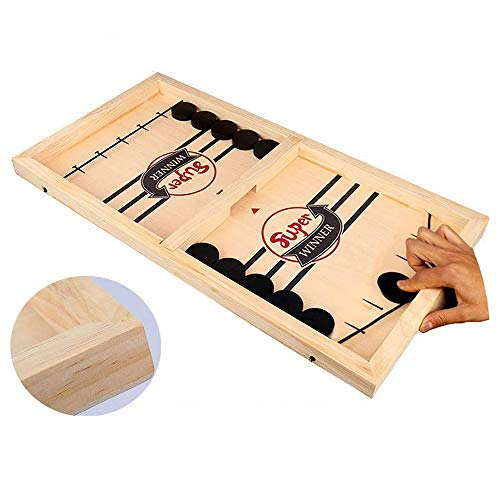 Fast Sling Puck Table Battle 2in1 Ice Hockey Board Game Toys...