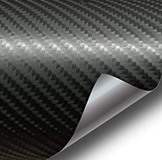 VViViD Black 4D True R Semi-Gloss Carbon Fiber 17.75 Inches x 60 Inches Vinyl Wrap Roll XPO Air Release Technology