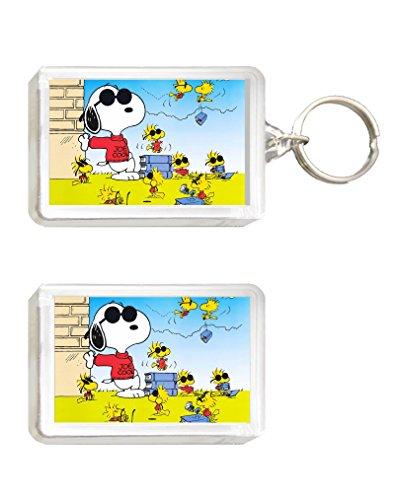 Llavero e imán Snoopy 2