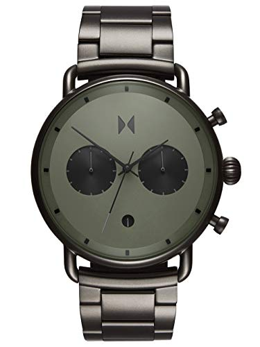 MVMT Herren Analog Quarz Uhr mit Edelstahl Armband D-BT01-OLGU