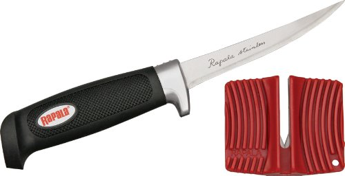 Rapala9 Soft Grip Fillet / Single Stage Sharpener / Sheath