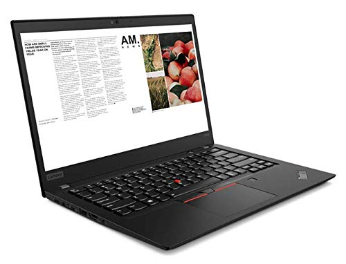 Lenovo ThinkPad T495s (20QKS2DF00) Laptop, 14' FHD Display, AMD Ryzen 7 PRO 3700U Upto 4.0GHz, 8GB RAM, 256GB NVMe SSD, Vega 10, HDMI, DisplayPort via USB-C, Wi-Fi, Bluetooth, Windows 10 Pro