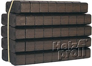 Heizprofi Bundled Briquettes 25 kg x 40 Pieces