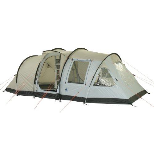 10T Zelt Kenton 4 Mann Familienzelt 5000mm Tunnelzelt wasserdichtes Campingzelt Bodenwanne Wohnraum