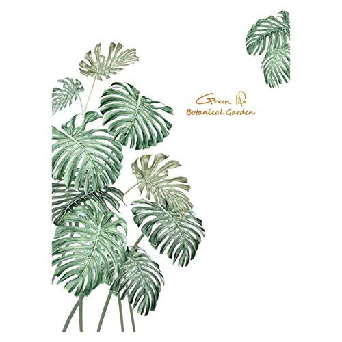Barney bijzondere 1Pc Tropische Plant schildpad achterlaat Jungle Home Decoratie Muurstickers