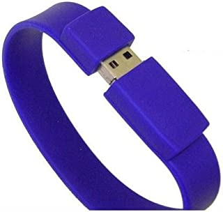 Great for Students Who Need Their Info One Size Fits Most Sleek Design BLACK YOLO 4GB USB Flash Drive Wristband Rubber Bracelet Storage Device On the Go Flexible Movement Great Color with Famous Saying