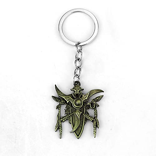 Game Blizzard Warcraft Colgante de coche creativo llavero mochila colgante regalo