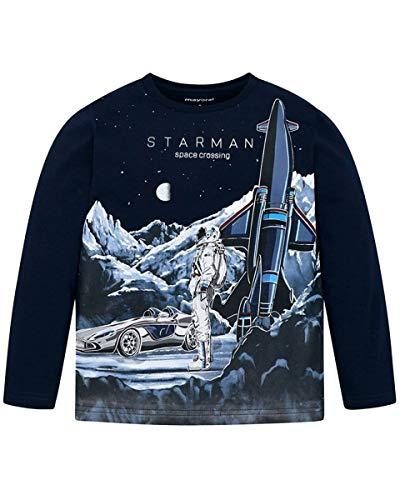 Mayoral Camiseta con impresión infantil. 044 Marino 4 años