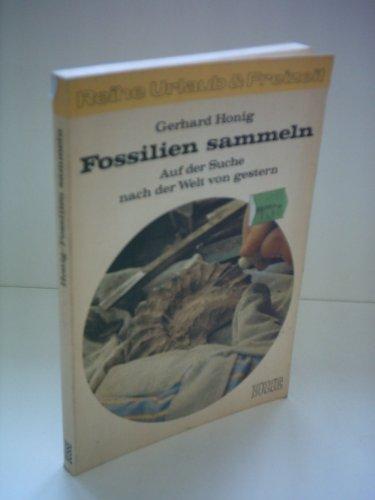 Gerhard Honig: Fossilien sammeln - Auf der Suche nach der Welt von gestern