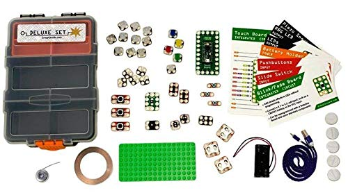 Brown Dog Gadgets - CRAZY CIRCUITS DELUXE KIT - Educational STEM and STEAM Building Projects