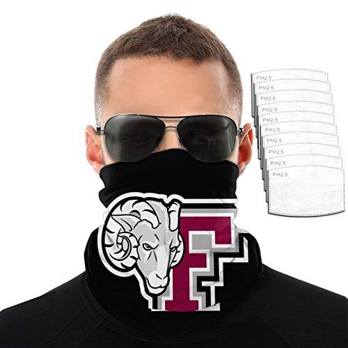 Country And Fordham University Logo Hombres Mujeres Deportes al aire libre Resistente al viento Transpirable Variedad Toalla facial