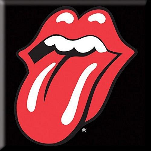 The Rolling Stones Kühlschrankmagnet Classic Tongue Nue offiziell 76mm x 76mm