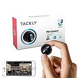 Cámara espía Oculta HD 1080p - Mini cámara espía WiFi para Ver en el móvil - Vigilancia camuflada con Sensor de...