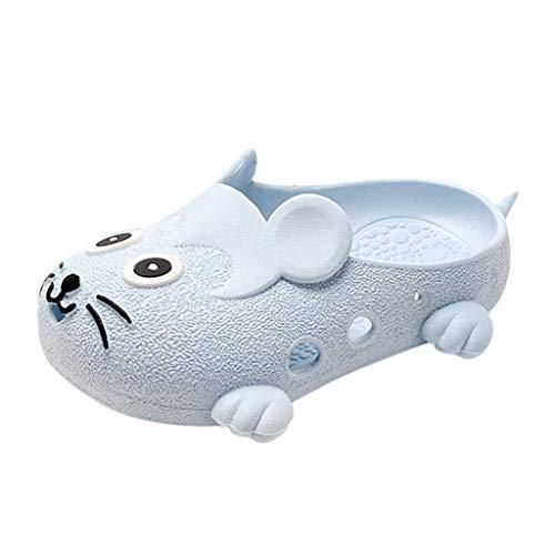 WINJIN Sandales Bébé Chaussures de Plage Mixte Enfant Sabot Filles Garçons Ete Tong Toddler Imprimé Animal Mignon